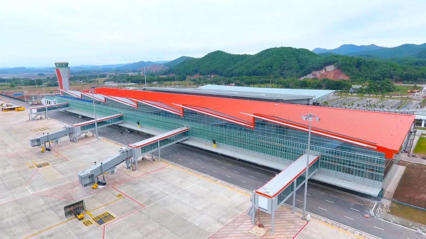 Tính mới mẻ trong xu hướng thiết kế Sân bay quốc tế Vân Đồn Quảng Ninh