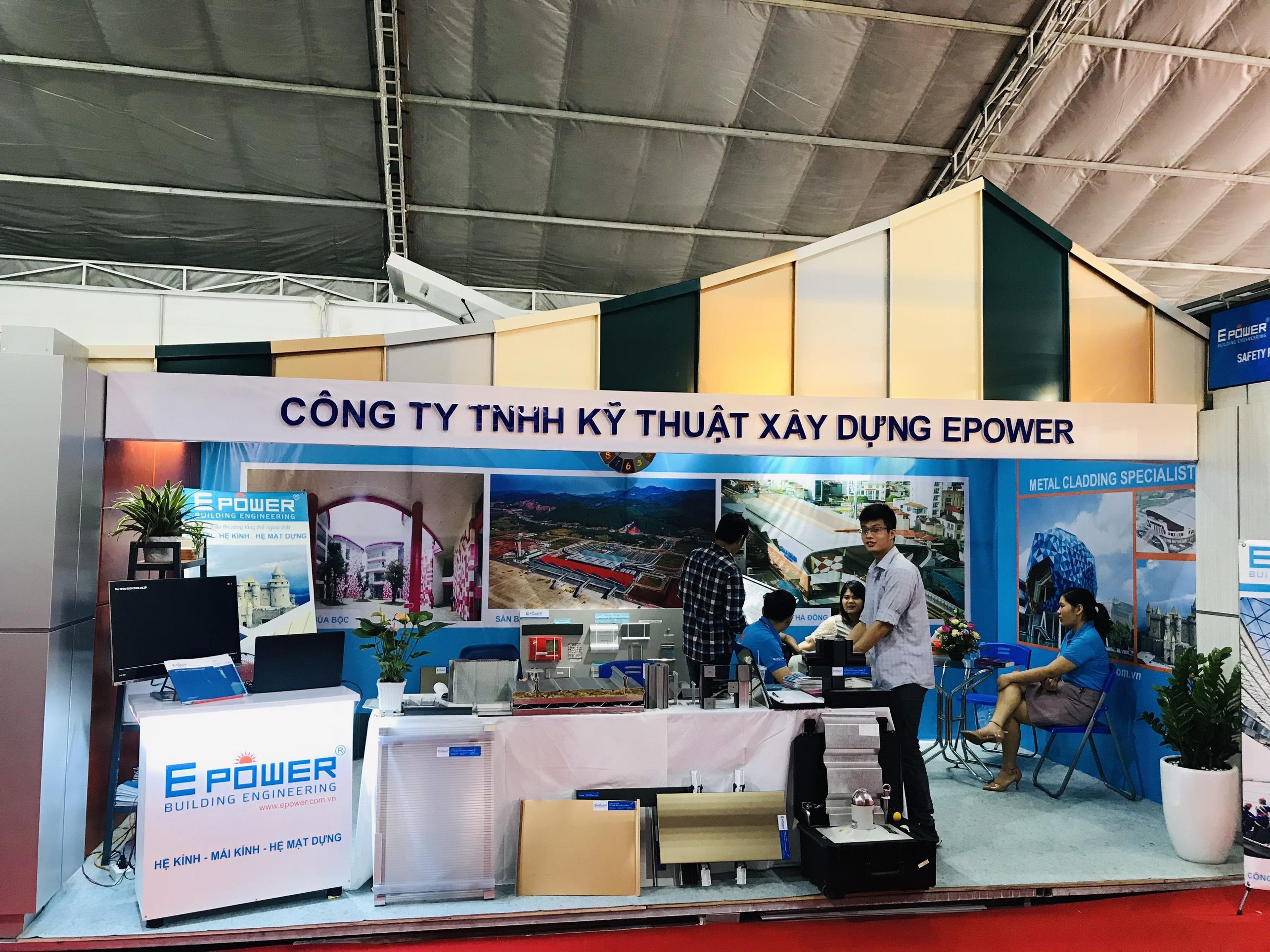 EPOWER tham dự triển lãm Vietbuild 2020 tại Hà Nội.